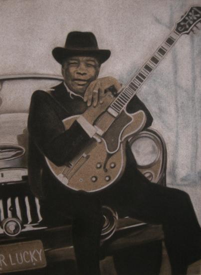 John Lee Hooker par DOM